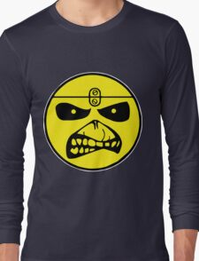 Iron Maiden Smiley Face Long Sleeve T-Shirt
