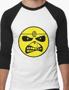 Iron Maiden Smiley Face Men's Baseball ¾ T-Shirt
