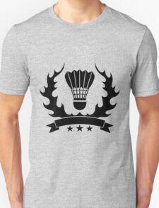 Vintage style badminton design Unisex T-Shirt