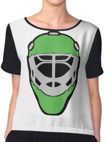 Hockey baseball racer mask clip art Chiffon Top