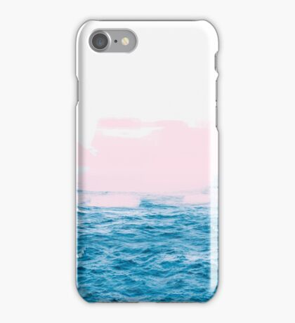 Ocean _ Pink #redbubble #lifestyle iPhone Case/Skin