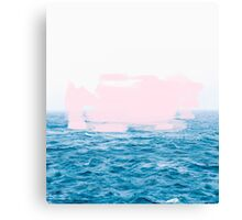 Ocean _ Pink #redbubble #lifestyle Canvas Print