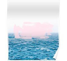 Ocean _ Pink #redbubble #lifestyle Poster