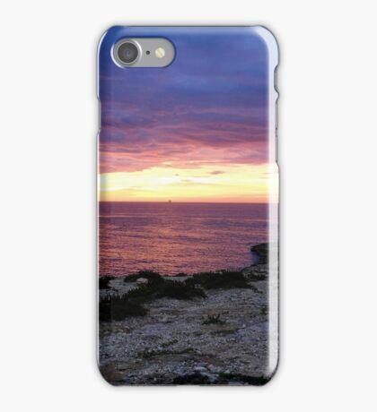 Sunrise over Delimara Malta iPhone Case/Skin