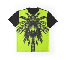 Palm Tree - Yellow Sky Graphic T-Shirt