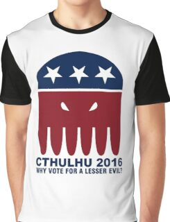 Vote Cthulhu Squid 2016 Graphic T-Shirt