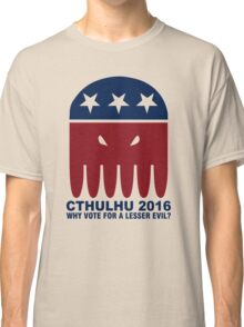 Vote Cthulhu Squid 2016 Classic T-Shirt