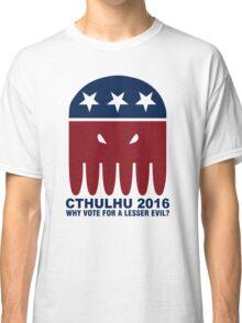 Vote Cthulhu Squid 2016 Classic T-Shirt