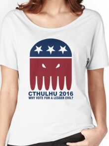 Vote Cthulhu Squid 2016 Women's Relaxed Fit T-Shirt