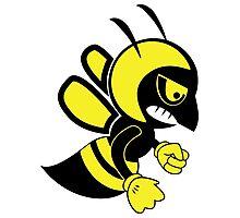 Fighting bee Photographic Print