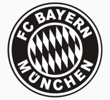 FC Bayern Munich Black One Piece - Short Sleeve