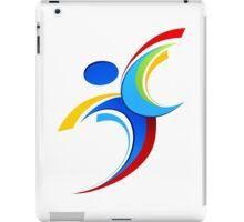 Sport logo design iPad Case/Skin