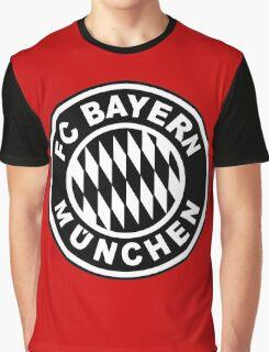 FC Bayern Munich Black Graphic T-Shirt