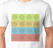 Colorful floral pattern Unisex T-Shirt
