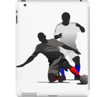 Football players kicking iPad Case/Skin