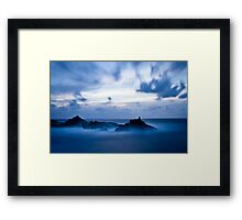The Water Movement Framed Print
