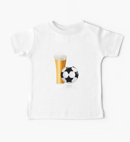 Football with beer Baby Tee