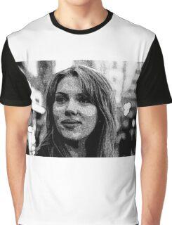 Scarlett Johansson Graphic T-Shirt
