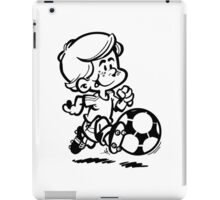 Soccer player cartoon iPad Case/Skin