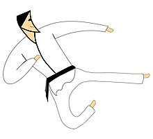 Karate art Photographic Print