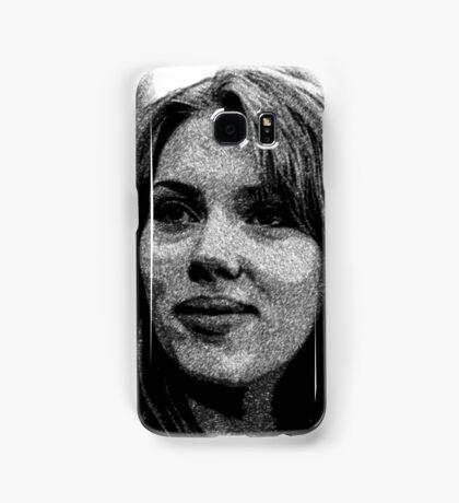Scarlett Johansson Samsung Galaxy Case/Skin