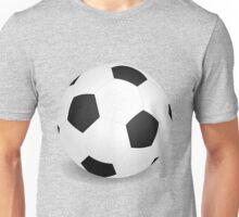 Large soccer ball Unisex T-Shirt