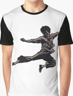 Kung Fu character series Graphic T-Shirt