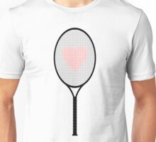 Tennis racket Unisex T-Shirt