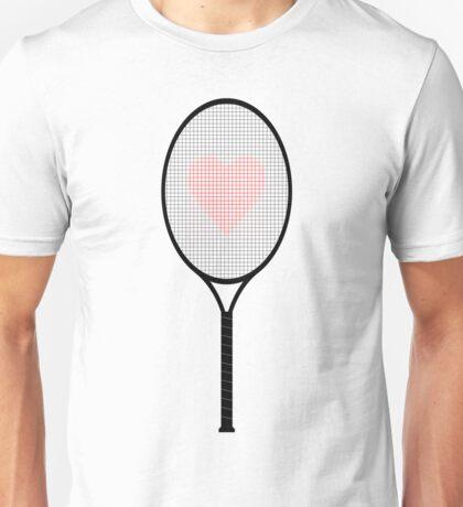 Tennis racket Unisex T-Shirt