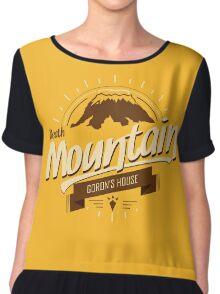 Death Mountain Chiffon Top