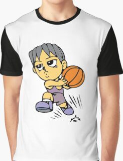 Basketball cartoon art Graphic T-Shirt