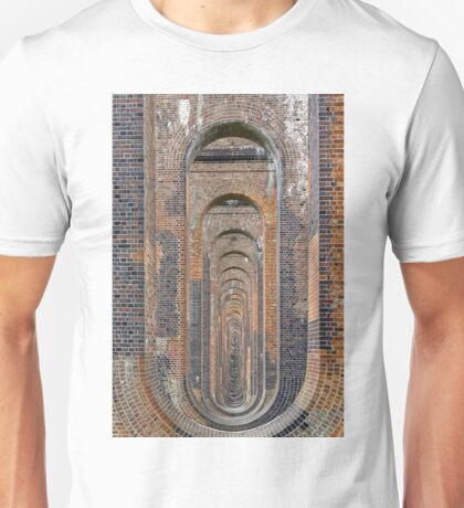 Supporting Brick Piers of Railway Viaduct Unisex T-Shirt