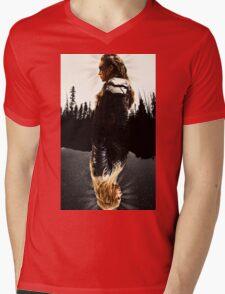 Clexa Mens V-Neck T-Shirt