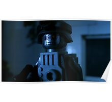 Lego Robot Soldier Poster