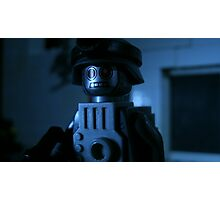 Lego Robot Soldier Photographic Print