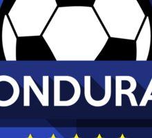 Creative soccer Honduras Sticker