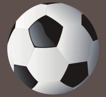 Football players kicking Baby Tee