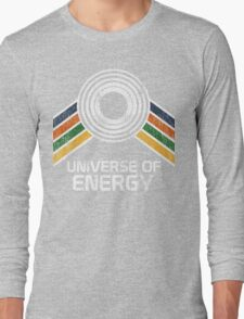 Vintage Distressed Universe of Energy Logo from EPCOT Center Long Sleeve T-Shirt