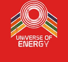 Universe of Energy Logo in Vintage Distressed Style Unisex T-Shirt