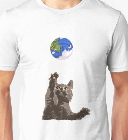 Cat Earth Yarn Unisex T-Shirt