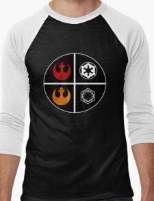 star wars symbols  Men's Baseball ¾ T-Shirt