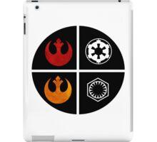 star wars symbols  iPad Case/Skin