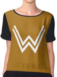 Justice League Wonderwoman Women's Chiffon Top