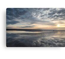 Solway Seascape Reflections Metal Print
