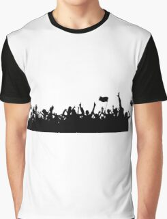 Sport supporters silhouettes Graphic T-Shirt