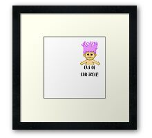 Out of Con-troll! Framed Print
