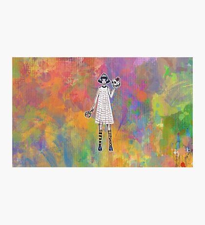 Paper dress Photographic Print
