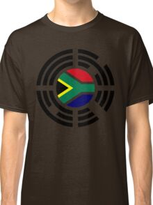 Korean South African Multinational Patriot Flag Series Classic T-Shirt