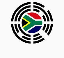 Korean South African Multinational Patriot Flag Series Unisex T-Shirt