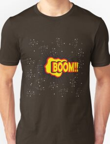 BOOM!! Pop Art Graphic Unisex T-Shirt